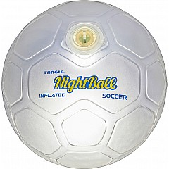 NightBall® LED Soccer Ball - Pearl White - Size 5