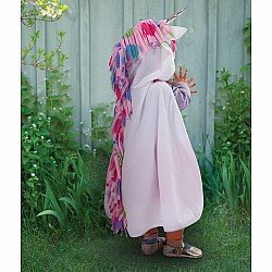 Toddler Unicorn Cape - White, Size 2-3