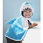 Toddler Shark Cape - Size 2-3