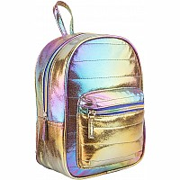 Cosmic Rainbow Mini Backpack