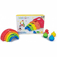 Lalaboom Arches Rainbow & Beads 13 pcs