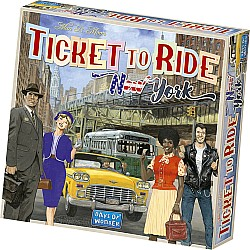 Ticket to Ride: New York Board Game