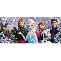 Disney's Frozen Friends, 200pc Panoramic Puzzle