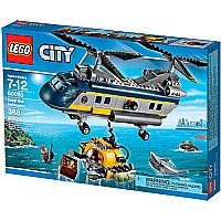 LEGO City Deep Sea Helicopter