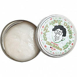 White Christmas Thinking Putty