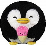 Mini Penguin Holding Ice Cream - Squishable