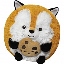 "7"" Squishable Mini Fox Holding a Cookie"