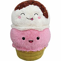"Squishable 15"" Comfort Food Ice Cream Cone"