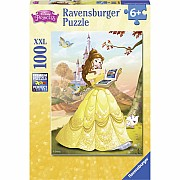 Ravensburger Belle Reads a Fairy Tale XXL 100 pc Puzzle
