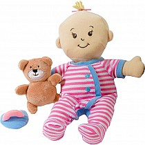 Wee Baby Stella Peach Sleepy Time Scents Doll Set