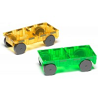 Magna-Tiles™ 2 Piece Car Expansion Set