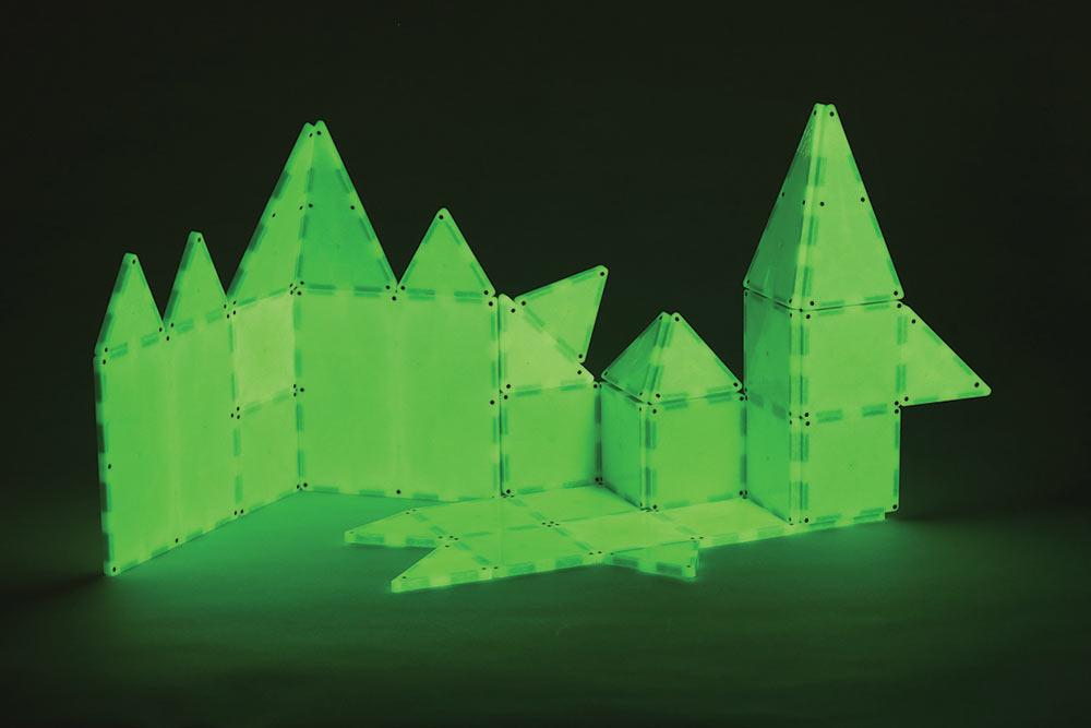 Magna Tiles Glow 32 Piece Set The Good Toy Group