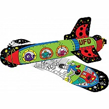3D Colorable Space Age Rockets