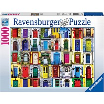 1000pc Doors of the World Ravensburger Puzzle