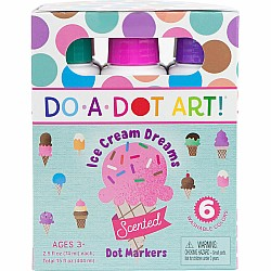 Do-A-Dot Ice Cream Dreams Scented Markers