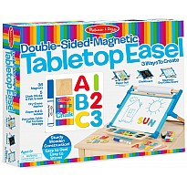 Melissa & Doug Double-Sided Magnetic Tabletop Easel - Free Gift with Purchase