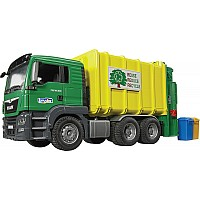 Bruder MAN Rear Loading Garbage Truck