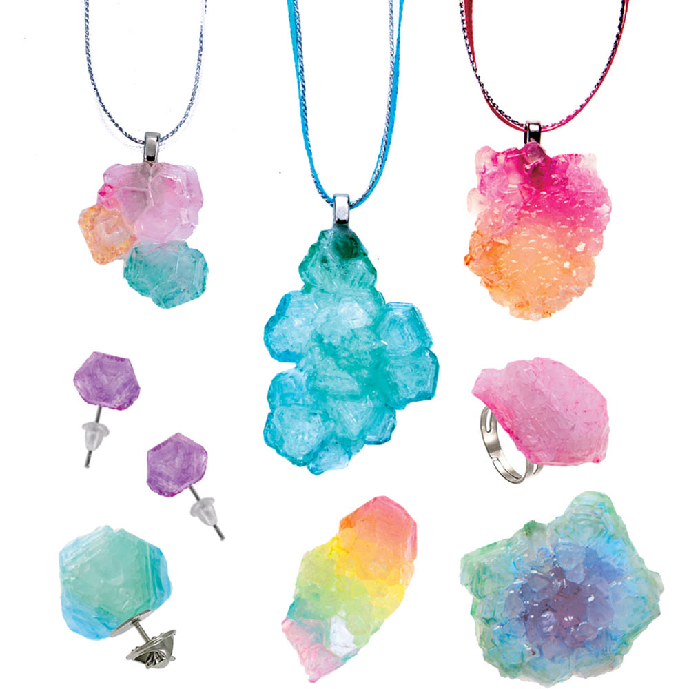 Creativity For Kids Color Your Mood Crystal Jewelry