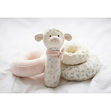 Lila the Lamb Squeaker Stacker