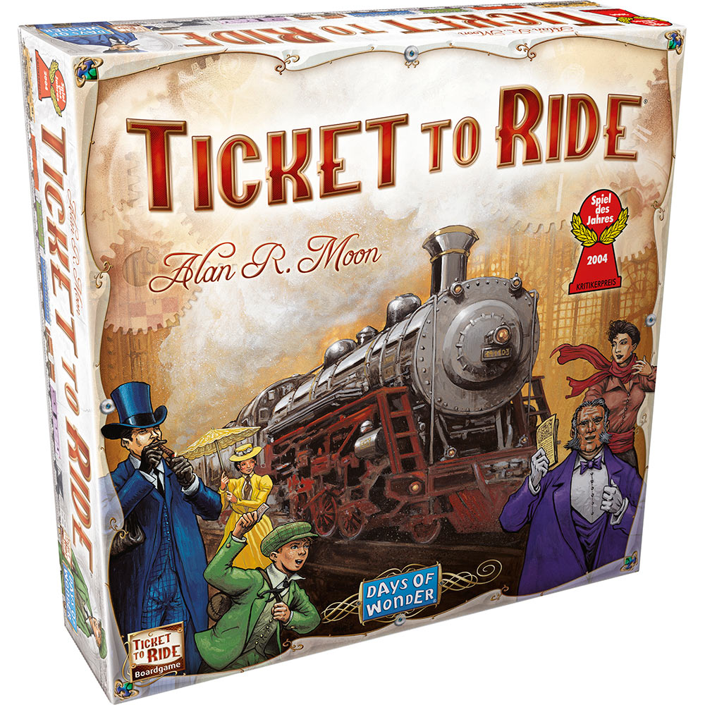 Ticket To Ride Board Game - Everest Wholesale