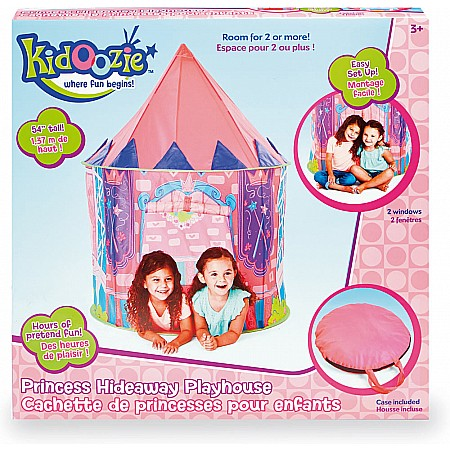 Kidoozie Princess Hideaway Playhouse