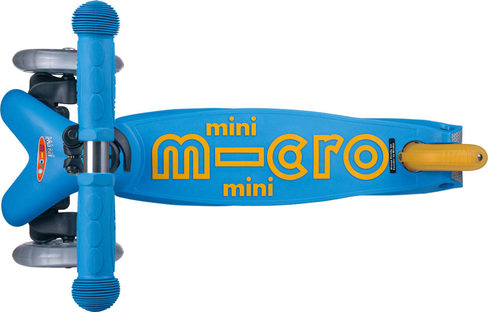 Micro Mini Deluxe Scooter - Ocean Blue