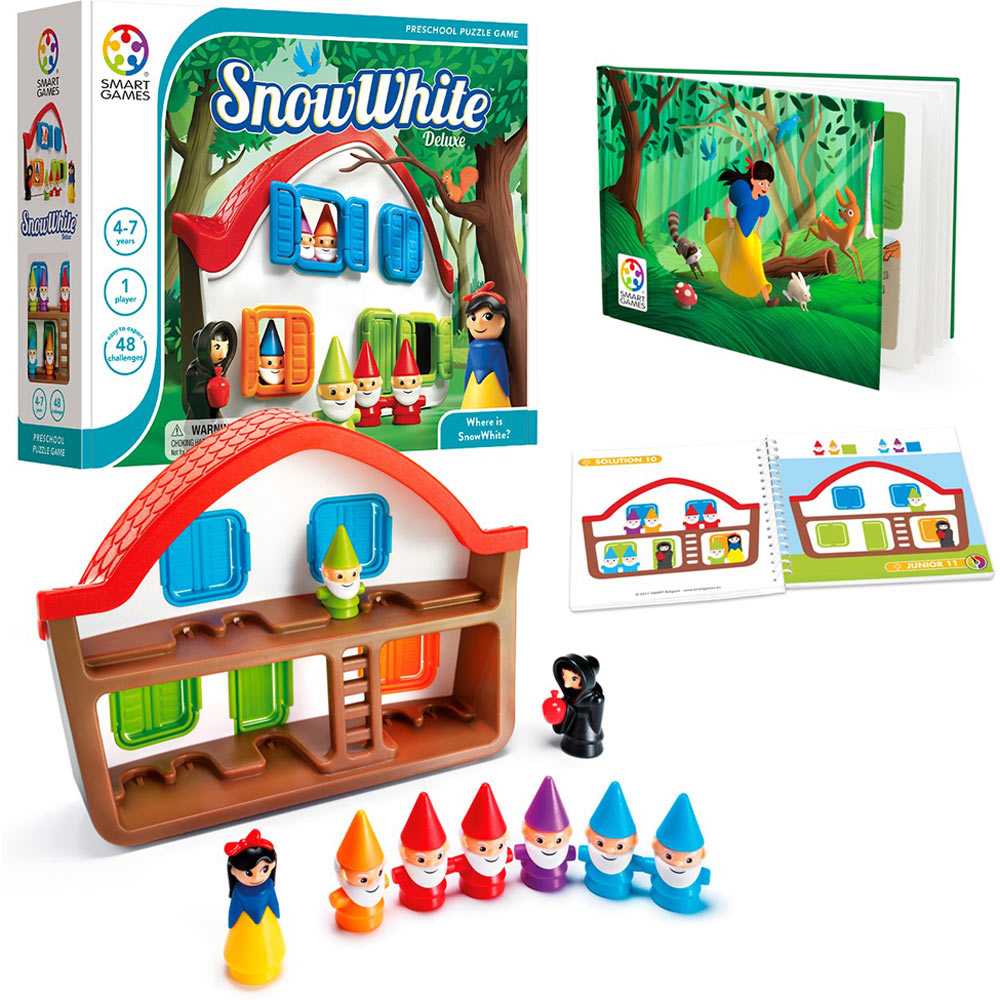 Puzzles Games: Snow White Deluxe Puzzle Game By Smart Toys & Games On
