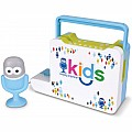 Singing Machine Kids Portable Bluetooth Sing-Along Speaker with Mic Guy Microphone
