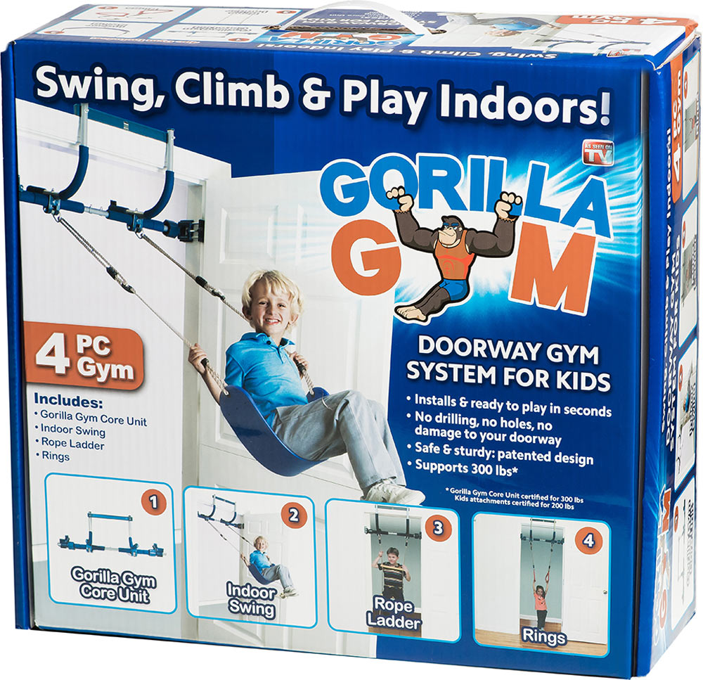 Doorway Gorilla Gym - 4 Piece Set