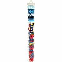 Plus-Plus Superhero Mini Maker Tube