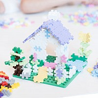Plus-Plus Pastel Learn To Build 400 pc Set