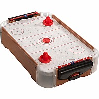 EXCLUSIVE - Tabletop Air Hockey with LED Lights