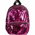Magic Sequin Mini Pink/Silver Backpack