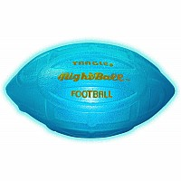 NightBall™ Inflated Football - Blue