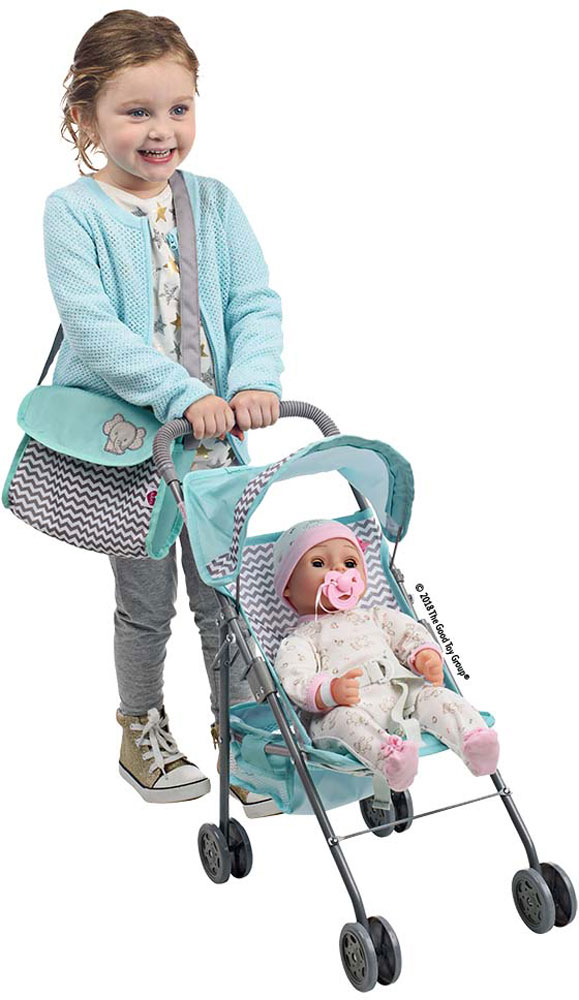 Adora Zig-Zag Doll Diaper Bag