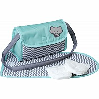 Zig-Zag Doll Diaper Bag