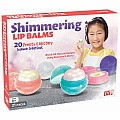SmartLab Shimmering Lip Balms Science Creations