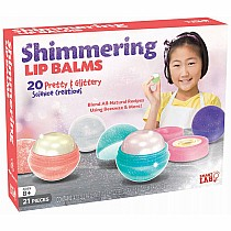 Shimmering Lip Balms Science Creations