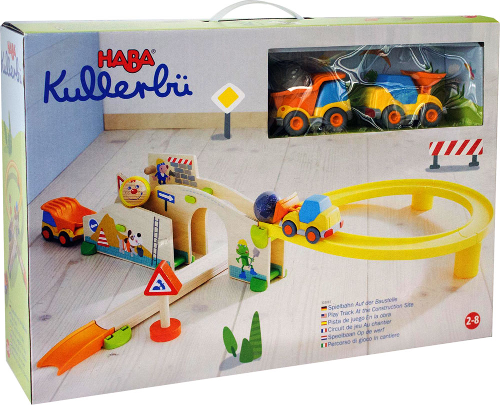Kullerbu Play Track - At the Construction Site