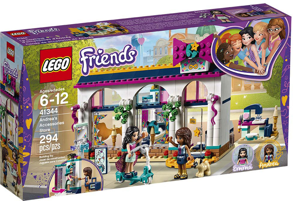 Lego® Andrea's Friends Accessories Cheeky Monkey Store Toys QxeCBdroW