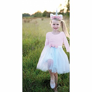 Great Pretenders Unicorn Skirt & Headband Set
