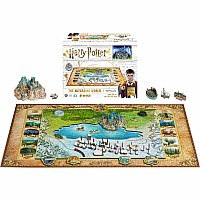 Harry Potter 4D Puzzle - 800pc: The Wizarding World