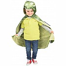 Great Pretenders T-Rex Hooded Cape - Green