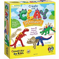 Creativity Create with Clay Dinosaurs