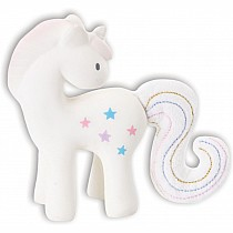 Tikiri Fairytales Rubber Rattle - Unicorn