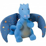 Tikiri Fairytales Rubber Rattle - Dragon