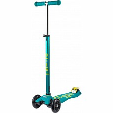 Micro Maxi Deluxe Scooter - Petrol Green