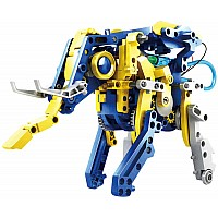 12 in 1: Solar Hydraulic Robot