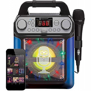 Singing Machine Groove Cube Mini Karaoke Machine - Black