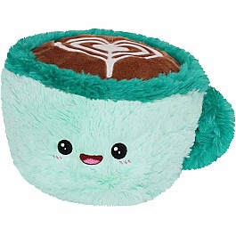 Squishable Mini Latte with Heart- 7""